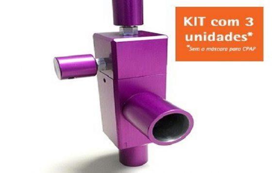Gerador de Fluxo New Flux (Kit com 3 unidades) – Ref: 90572-000KIT – Medcir